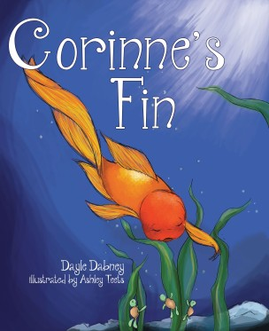 Corinne's Fin is a story for young children about courage and adaptability of a champion swimmer, Corinne, who thought life would always be the same at Lavender Lake. When things change unexpectedly, she must use her inner determination to begin the struggle to find and accept her new life, maintain her positive outlook on her circumstance, and keep smiling from Fin to Fin!