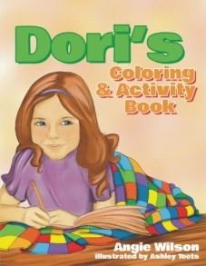 Mom's Choice Award-Juvenile Books (Level 2 – Ages 9 to 12): Activities, Crafts & Hobbies ( Includes Puzzles & Games) Dori has her own activity book and invites you to join the fun—-coloring pages, puzzles, and games that make a great companion to the award-winning book, Dori's Gift by Angie Wilson and illustrated by Ashley Teets. Author Angie Wilson, takes her twenty years of classroom experience to create this book that is both fun and educational. Children will be captivated for hours with the numerous learning opportunities. There are independent activities as well as classroom comprehension sheets designed to assist in visually mapping out children's thinking. Included are printable activities that will help children deepen their understanding of the story, Dori's Gift, and of Appalachian heritage. Perfect for classrooms or the home school setting for students in grades K-5. So, open up Dori's Activity Book and let the fun and learning begin!
