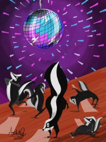 Krumpin Skunk Disco!