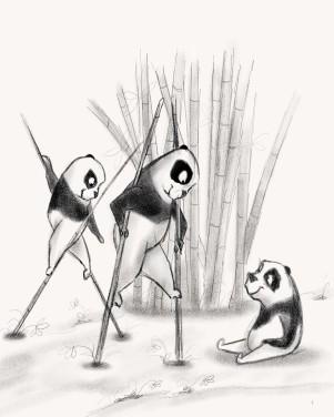 Pandas On Stilts!