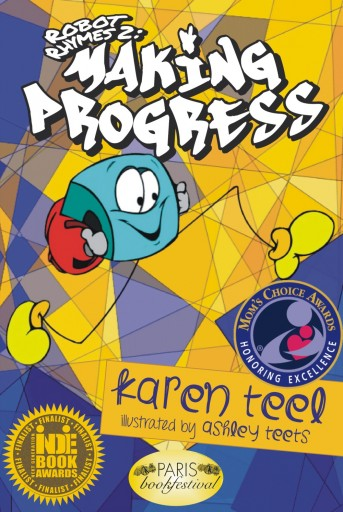 Indie Book Award Mom's Choice Award Creative Child Magazine Book of the Year Award Paris Book Festival Honorable Mention Snuggie is back! A look into Snuggie's childhood is the subject of the newest Robot Rhymes by Karen Teel. Snuggie makes progress through life, overcoming adversity and reaching for the stars. Inspirational and motivational, the illustrations by Ashley Teets bring this book alive for the reader. All ages will enjoy the rhymes and illustrations and learn how to write your own hip hop songs!