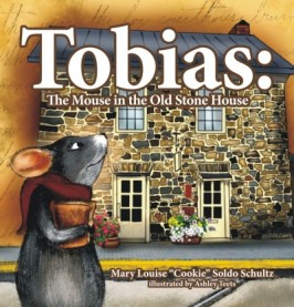 """Gold Mom's Choice Award Winner for Best Children's Picture Book What happens when you give a mouse a """"Cookie?"""" You get a wonderful children's tale from Cookie Schultz about Tobias the mouse...keeper of the history of Morgantown, WV and the Old Stone House, one of WV's oldest and most historic buildings. Click here to Purchase!"""