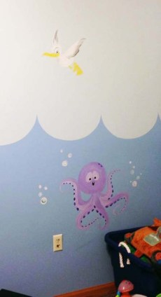 Under the Sea Mural Image 6